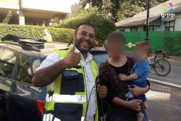 רחובות: הילד נעל עצמו ברכב כונן ידידים חילצו בשלום