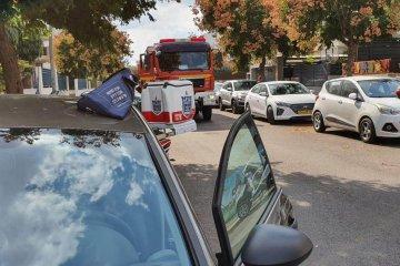 ראשון לציון: כונני ידידים חילצו בשלום פעוטה מרכב נעול