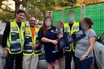 מודיעין: שני ילדים ננעלו בשגגה ברכב, כונני ידידים חילצו אותם במהירות ובשלום