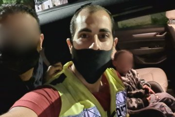 אזור: מתנדבי ידידים חילצו ילד מרכב נעול ללא פגע