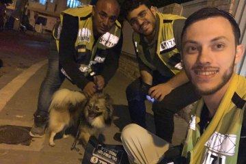 """חולון: קצת לפני חצות מתנדבי ידידים הוזעקו לחלץ כלב שננעל לבדו ברכב והוא חולץ במהירות ובשלום • """"ראינו את ההקלה של בעל הכלב"""""""