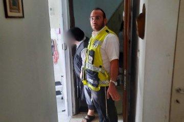 בית וגן: במבצע מורכב חילץ מתנדב ידידים צעירה שנלכדה בין שמים וארץ, מחוץ לחלון ביתה