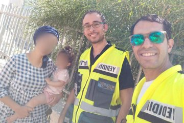 """פעוט שננעל ברכב בשגגה בירושלים חולץ בשלום ע""""י כונני ידידים"""