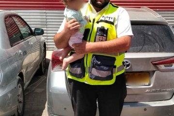 """בני ברק: ילד שננעל ברכב, חולץ בשלום ע""""י כונן ידידים"""